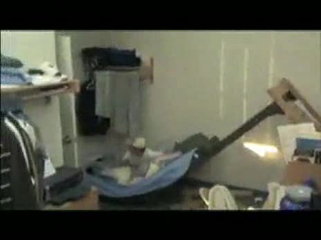 Destroying Bunk Bed