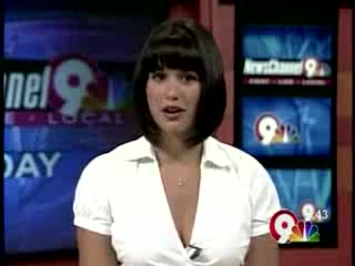 Anchorwoman Blooper