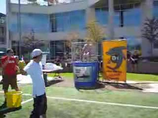 Dunking Booth Accident