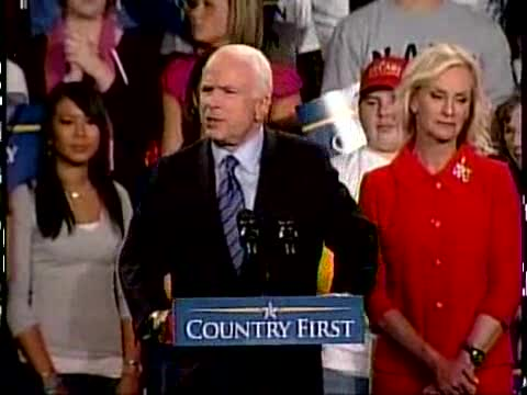 John McCain Blooper
