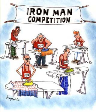 This is a real iron man competition.