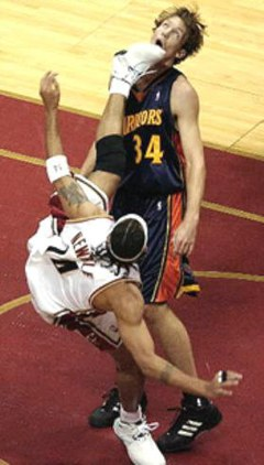 Ummm, I think this is a foul.