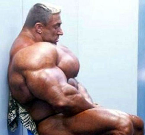 This guy proves there is a such thing as too much muscle!